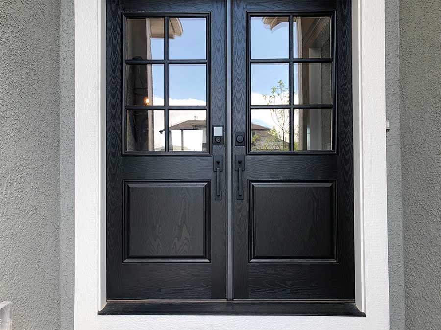 ¿Cómo escoger una puerta de madera para exterior?